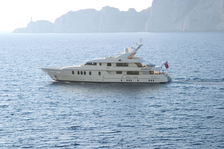 Yacht RAHAL Feadship CHARTERWORLD Luxury Superyacht